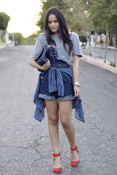 Vintage Overalls, Shoes