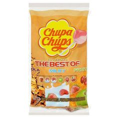 Chupa Chups The Best of 120 Assorted Flavour Lollipops Halloween Sweets, Snack Recipes, Snacks, Lollipops, Clean Eating, Chips, Good Things, Fruit, Poet