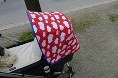 If you want to create your own Bugaboo Cameleon canopy, here's the way I do it (inspired by Mamma på vift ).   You will need:  - the outer ...