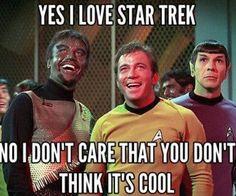 Yes I Love Star Trek, of course I do! Star Trek Meme, Star Trek 1, Star Trek Ships, Film Star Trek, Akira, Star Trek Original Series, Star Trek Characters, Star Trek Universe, Star Trek Enterprise