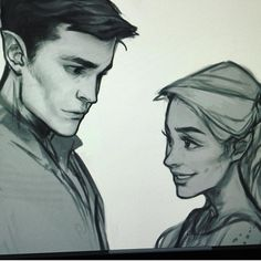 Rhys and Feyre>>>>THIS IS SO BEAUTIFUL!! BLESS WHOEVER MADE THIS