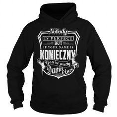 Awesome Tee KONIECZNY Pretty - KONIECZNY Last Name, Surname T-Shirt T shirts