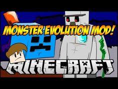 Minecraft Mod Showcase: Monster Evolution Mod! #minecraft #monster #Mods #funny #youtube #mattyreyrey www.youtube.com/mattyreyrey