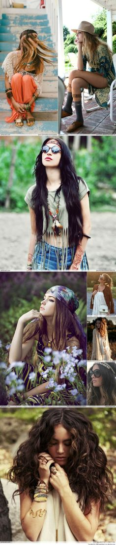 Bohemian Style? May be prepping for this to be my summer look.