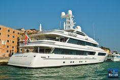 Hurricane Run Yacht Valletta Venice | Photo Rusch - #boating #yachts #sailing #sailboat #luxury #fishing seatechmarineproducts.com