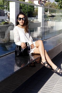 A WHITE LACE DRESS   FASHION IS MY GIRLFRIEND   Fashion, Beauty & Travel Blog