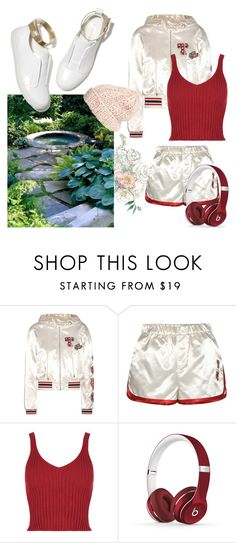 """""""Weekend"""" by pearls-and-peanuts ❤ liked on Polyvore featuring Tommy Hilfiger, M. Gemi, Beats by Dr. Dre and Free People"""