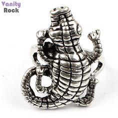Anel Reptile.  Disponível em nossa loja: www.vanityrock.com.br