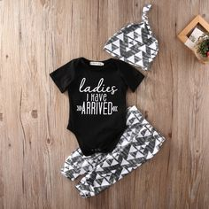 346b51541 3pcs Infant Baby Girl Boy Cotton Romper AND Pants Hat Outfits Clothes Set 0  18M-in Clothing Sets from Mother & Kids on Aliexpress.com   Alibaba Group