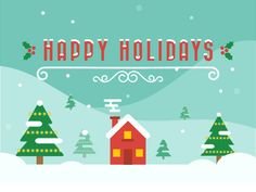 designed by Ashley Jager. the global community for designers and creative professionals. Snoopy Christmas, Merry Christmas And Happy New Year, Christmas Is Coming, Christmas Angels, Christmas Holidays, Xmas, Holiday Gif, Holiday Cards, Christmas Cards