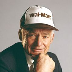 Today the name is synonymous with retail shopping. A great mind often drives a successful business and one such person is Sam Walton. He started the first Wal-Mart in 1962 when he was 44 years old.  #SamuelMooreWalton #Fashion #Walmart