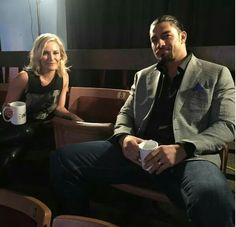 Unfiltered starring Renee Young & Roman Reigns