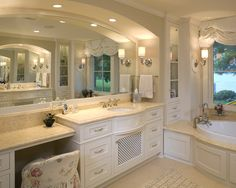 Traditional Bathroom Fireplace Mantel Design, Pictures, Remodel, Decor and Ideas - page 12