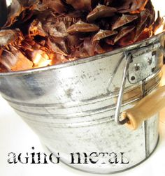 Down to Earth Style: Aging Metal