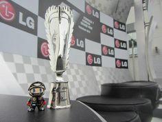 Mini Kimi on the podium in Korea...