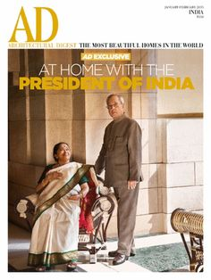 Architectural Digest January February 2015 Magazine by Conde Nast India Pvt. World's Most Beautiful, Beautiful Homes, Innovative Websites, Ad Architectural Digest, Indian Architecture, House Architecture, India Design, Interiors Magazine, Cottage House Plans