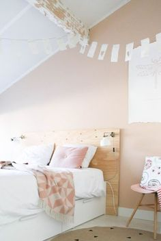 Ideas For Bedroom Inspiratie Pastel Neutral Bedrooms, Trendy Bedroom, Modern Bedroom, New Bedroom Design, Home Decor Bedroom, Farrow And Ball Bedroom, Romantic Home Decor, Woman Bedroom, Bedroom Paint Colors