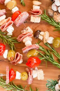 What Is Charcuterie, Charcuterie Board, Marinated Mushrooms, Stuffed Mushrooms, Stuffed Peppers, Appetizers For A Crowd, Best Appetizers, Mini Pickles, Skewers