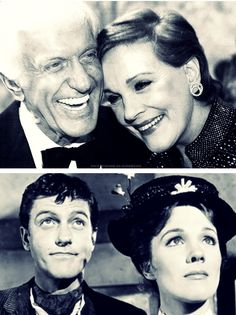 Mary Poppins then and now