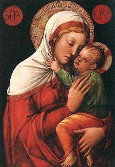 JACOPO BELLINI LA VIRGEN CON EL NIÑO 1430