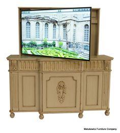 matukewicz furniture tv lift cabinets tv lifts tv lift furniture custom tv technology tvthe