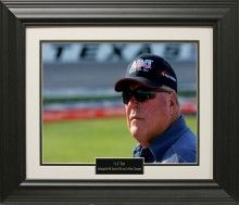 A.J. Foyt Photo Matted and Framed