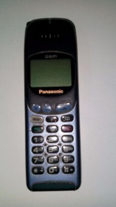 Very old Panasonic mobile phone #Panasonic