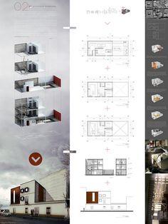 Lamina Taller Vertical C-2 Vivienda Patrimonial / Alberto Mendoza #presentation