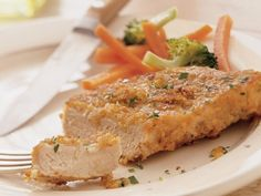 Italian Pork Chops--I used Krusteaz instant pancake mix since I didn't have any Bisquick