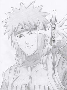 Minato Namikaze by Antylopa Naruto Shippuden Sasuke, Naruto Kakashi, Anime Naruto, Naruto Art, Manga Anime, Boruto, Naruto Sketch Drawing, Anime Drawings Sketches, Naruto Drawings
