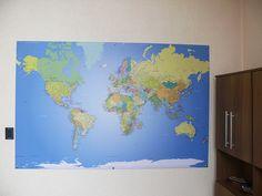 Mapa Mundi para marcar, viagens, lugares visitados com ícones