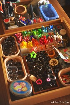 Organization is import for all those bento tools!