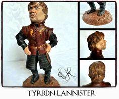 Tyrion Lannister (Games of Thrones) handmade polymer clay https://www.facebook.com/Whitewolf.handmade