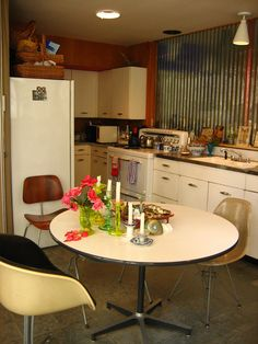 Kitchen at Charles and Ray Eames House