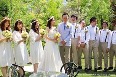 bridesmaid & groomsmen by AYANO TACHIHARA Wedding Design