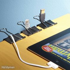 DIY Home Sweet Home: 10 Ways to Control Cord Clutter