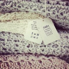Atelier Sukha knitted blankets