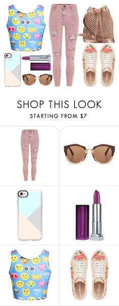 """""""#30"""" by twist3d-ang3l on Polyvore featuring River Island, Marni, Casetify, Maybelline and nooki design"""