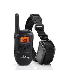 ObeDog 330 Yards Stride Series Rechargeable & Weatherproof Dog Training Collar with Amber LCD Remote - Vibration / Static Shock / Tone Training. Training Collar, Dog Training, Pet Dogs, Dog Cat, Static Shock, Dog Shock Collar, Remote, Cute Animals, Puppies