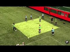 Soccer Coaching Possession Drill: Warm Up (Technical) - YouTube