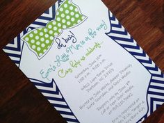 Hey, I found this really awesome Etsy listing at https://www.etsy.com/listing/153084879/bow-tie-baby-shower-invitation