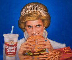 Burger Cartoon, Mood Wallpaper, Islamic World, A Level Art, Best Mother, Arte Pop, Pretty Wallpapers, Illustrations And Posters, Surreal Art