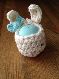 Bunny Girl EOS Lip Balm Cozy (eos not included) on Etsy, $11.50