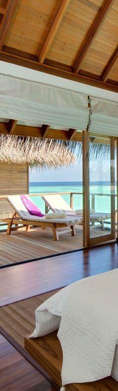 Look: Destination Maafushivaru Island Resort. Romantic Vacations, Dream Vacations, Beautiful World, Beautiful Places, Beach Shack, Us Beaches, Island Resort, Resort Style, Maldives Trip