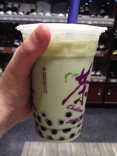 Green tea Bubble tea ❤️
