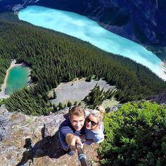 #Repost @go.photography_  Big Beehive hike in Lake Louise Alberta Canada  @rmtravels_ #gopro #canada via #lifeapp #armorx #adventurer #adventure #hiking
