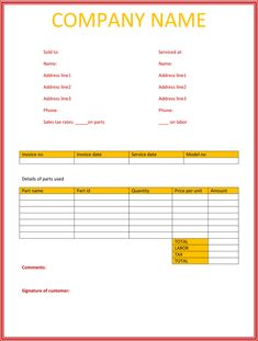 Quotation Templates In Excel And Word Format Free To Download From