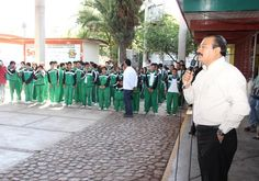 Alcalde de Zacatelco anuncia inversión en infraestructura educativa