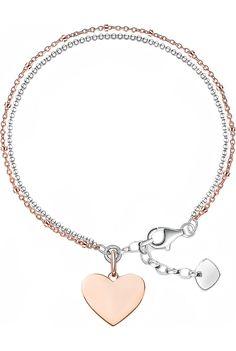 THOMAS SABO - 18ct rose gold and sterling silver Love Bridge bracelet | Selfridges.com