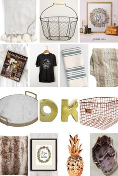 33 Gift Ideas for the Home Decor Enthusiast | So many great ideas for the hard to shop for person on your list!